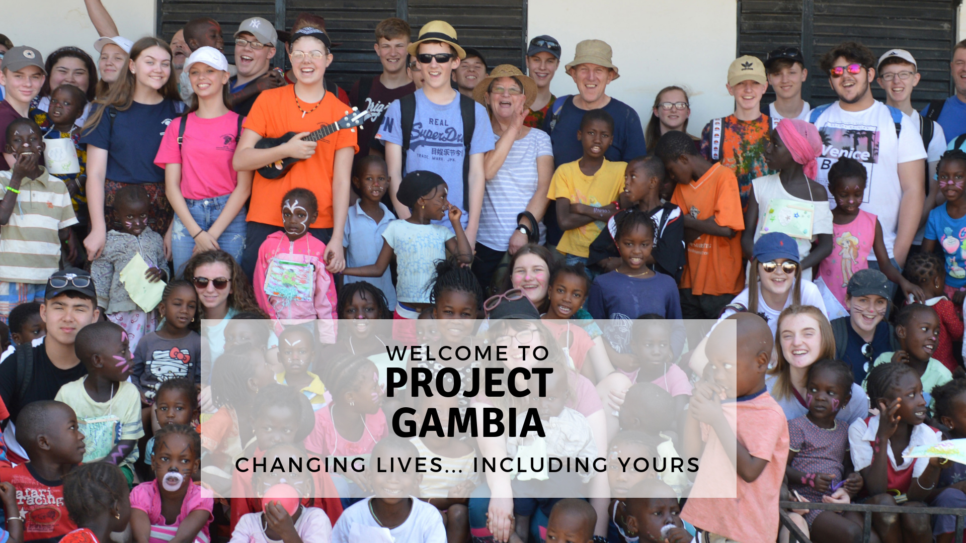 Project Gambia... Changing Lives Including Yours